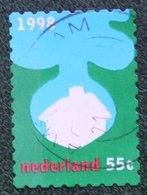 Kerst Christmas XMAS Weihnachten NOEL NVPH 1804 (Mi 1699) 1998 Gestempeld / USED NEDERLAND / NIEDERLANDE - Period 1980-... (Beatrix)