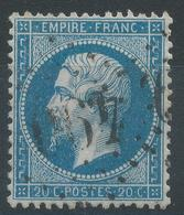 Lot N°45544  N°22, Oblit GC 490 Le Blanc, Indre (35), Ind 3 - 1862 Napoleon III