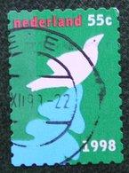 Kerst Christmas XMAS Weihnachten NOEL NVPH 1805 (Mi 1700) 1998 Gestempeld / USED NEDERLAND / NIEDERLANDE - Period 1980-... (Beatrix)