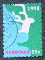 Kerst Christmas XMAS Weihnachten NOEL NVPH 1807 (Mi 1702) 1998 Gestempeld / USED NEDERLAND / NIEDERLANDE - Period 1980-... (Beatrix)