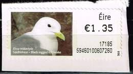 Irland ATM, Michel# 50 O Black-legged Kittiwake (Rissa Tridactyla) - Viñetas De Franqueo (Frama)