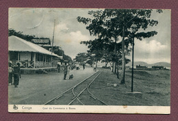 """BOMA  : """" QUAI DU COMMERCE """"  1911  (Ed. NELS Série 14 - N° 77) - Congo Belge - Autres"""