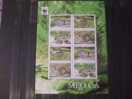 WWF Nice Sheet Vietnam 2010 Wildcats Mnh - W.W.F.
