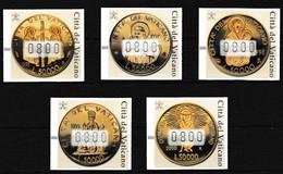 Vatikaan 2001 Vignetten Nr 6/10 **, Zeer Mooi Lot Krt 4034 - Vatican
