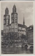 ZÜRICH - GROSSMÜNSTERKIRCHE  1936 - ZH Zürich