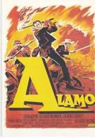 CPM Affiche De Cinéma ALAMO Avec John WAYNE, Richard WIOMARK, Laurence HARVEY ... - Affiches Sur Carte