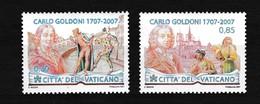 Vatikaan 2007 Nr 1433/34 **, Zeer Mooi Lot Krt 4037 - Timbres
