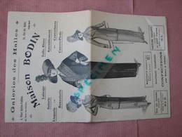 Tours Galeries Des Halles 1912/1913 Maison Bodin, Confections Pour Dames Et Fillettes - 1900-1940
