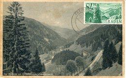 40409 Germany (baden) Maximum 1948  84pf. Mountain  Schwarzwald  Mi-12 - Zone Française