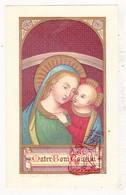 Devotie - Priesterjubileum 50j. EH Eugenius Vanden Borre / Brussel 1867 College Gent 1917 / Mater Boni Consilii - Images Religieuses