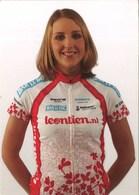 CYCLISME:JOSIEN VAN WINGERDEN VAN DEN HEERIK - Ciclismo