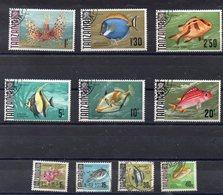 TANZANIE  Timbres   De 1967  ( Ref 5865A )  Animaux - Poissons - Tanzanie (1964-...)