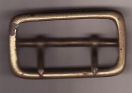 Boucle De Ceinturon Gendarmerie Années 1930 1950 - Equipement