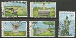 Thailand - 1988 Buddha Celebrations Used   Sc 1286-90 - Thailand