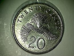 Singapore 20 Cents 1997 - Singapour