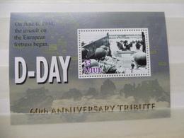 Niue Bloc 139 / Blok War World 1940 - 1945 Neuf New  ( Bateau ) Guerre ,  D-day, 6ne Normandy - Guerre Mondiale (Seconde)