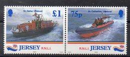 JERSEY  Timbres Neufs ** De 1999  ( Ref 5867 )  Mer - Sauvetage - Bateaux - Jersey