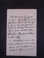 Lettre Autographe De Pierre PUVIS De CHAVANNE - Autographes