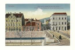 AK Sarajevo - Attentat 1914 - Bosnien-Herzegowina