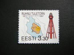 120th Anniversary Of Ruhnu Lighthouse # Estonia Estonie Eesti # 1997 MNH # Mi. 293 - Estonie