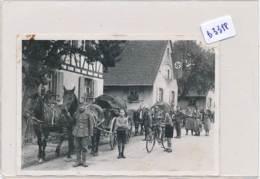 AC (Photo Format 80x115mm) -B3318-Belle Scène De Rue  2ème Guerre Mondiale (Nature, Catégorie , état....Voir Scans) - War, Military