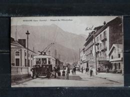Z26 - 73 - Modane Gare- Départ De L'Electrobus - Coll. Montaz - 1933 - Modane