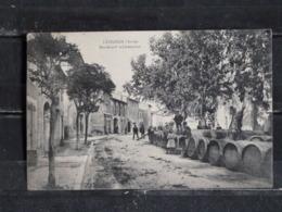 Z26 -11 - Lezignan - Boulevard De Chateaudun - 1910 - Vin - Barriques - France