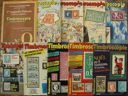 REVUE TIMBROSCOPIE Année 1984 Complète (n° 0 à 9). - Magazines