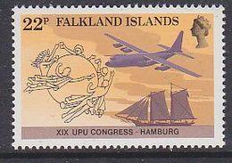Falkland Islands 1984 UPU 1v ** Mnh (41463A ) - Falklandeilanden