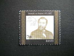 Heinrich Von Stephan # Estonia Estonie Eesti # 1997 MNH # Mi. 300 - Estonie