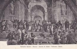 Vaticano Roma, Raffaello Sauzio Stanze, Scuola Di Atene (pk53185) - Vatican