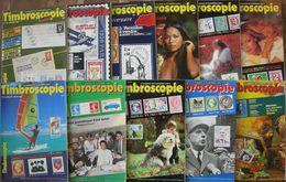 REVUE TIMBROSCOPIE Année 1985 Complète (n° 10 à 20). - Magazines