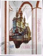 Polen 2018, Michel# Block 274 O Musikinstrumente: Historic Organs - 1944-.... Republik