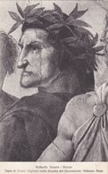 Vaticano Roma, Raffaello Sanzio, Testa Di Dante Alighieri Nella Disputo Del Sacramento (pk53187) - Vatican