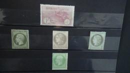 Collection De Timbres  ** Et Oblitérés De ROUMANIE Dont 1 Plaquette De Classiques De France. Voir Commentaires !!! - Briefmarken