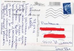 FRANCIA 2008 - MARIANNE DE BEAUJARD - EUROPA - LES BAUX DE PROVENCE - 2004-08 Marianna Di Lamouche