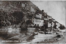 GANDRIA → Lago Di Lugano Dampfschiff Vor Gandria, Ca.1920 - TI Tessin