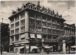 La Chaux De Fonds: Axes. Viaggiata 1955 - NE Neuchâtel