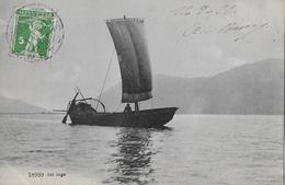 LAGO DI LUGANO - Segelschiff Auf Dem See Anno 1911 - TI Tessin