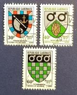 Republique Gabonaise , Gabon , 1972 , Town Arms , Used - Gabon
