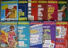 REVUE TIMBROSCOPIE Année 1988 Complète (n°43 à 53). - Magazines