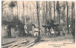 Cpa 54  La Guerre En Lorraine Village Nègre - Francia