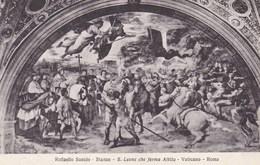 Vaticano Roma, Raffaello Sanzio, S Leope Che Ferma Attila (pk53190) - Vatican