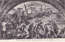 Vaticano Roma, Raffaello Sanzio, Battaglia D'Ostia (pk53191) - Vatican