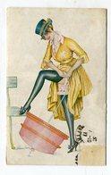CPA Illustrateur :  SAGER Xavier Petites Femmes      VOIR DESCRIPTIF  §§§ - Sager, Xavier