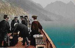 LAGO DI LUGANO - Revisione Doganale, Ca.1920   ►RRR◄ - TI Tessin