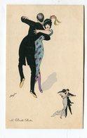 CPA   Illustrateur  :   Xavier  SAGER   Le Double Boston    A  VOIR  !!!!!!! - Sager, Xavier