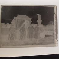 Négatif Photo Ancienne Militaire Guerre 14-18 Remereville La Loco 1.1.1918 Locomotive - Krieg, Militär