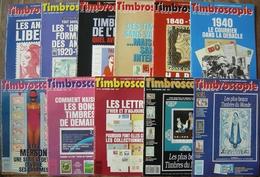 REVUE TIMBROSCOPIE Année 1990 Complète (n°65 à 75). - Magazines