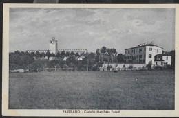 CASTELLO DI PASSIRANO (BS) - FORMATO PICCOLO - EDIZ. MICHELETTI - VIAGGIATA 20.06.1938 - TASSATA CENT O,20 - Castelli